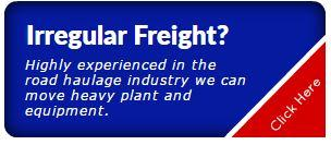 same day irregular freight haulage Solihull