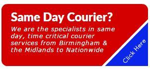 same day courier Kidderminster